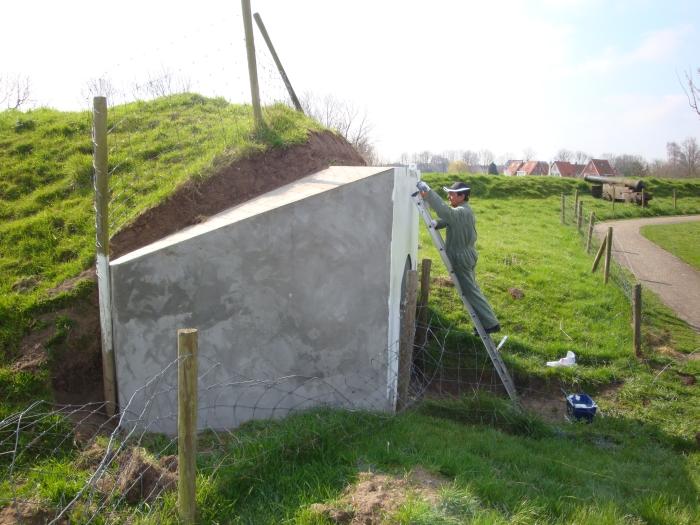 gilde - verven bunkers vesting brielle