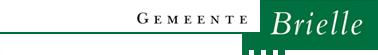 logo gemeente brielle