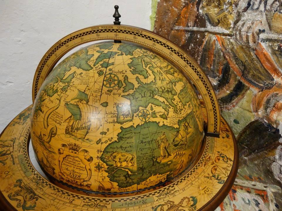 kruithuis - globe 16de eeuw