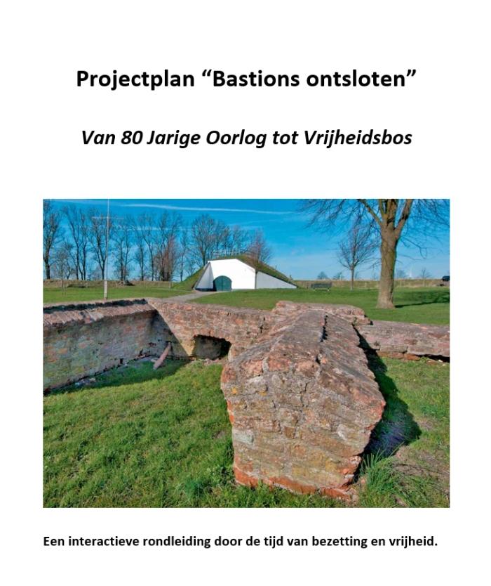 Projectplan Bastions Ontsloten - voorkant