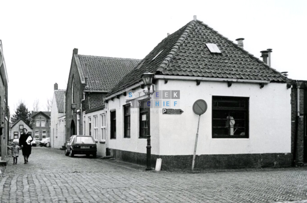 Ribbe fabriek hoek Boterstraat Rozemarijnstraat