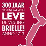 Leve de Vesting Brielle logo