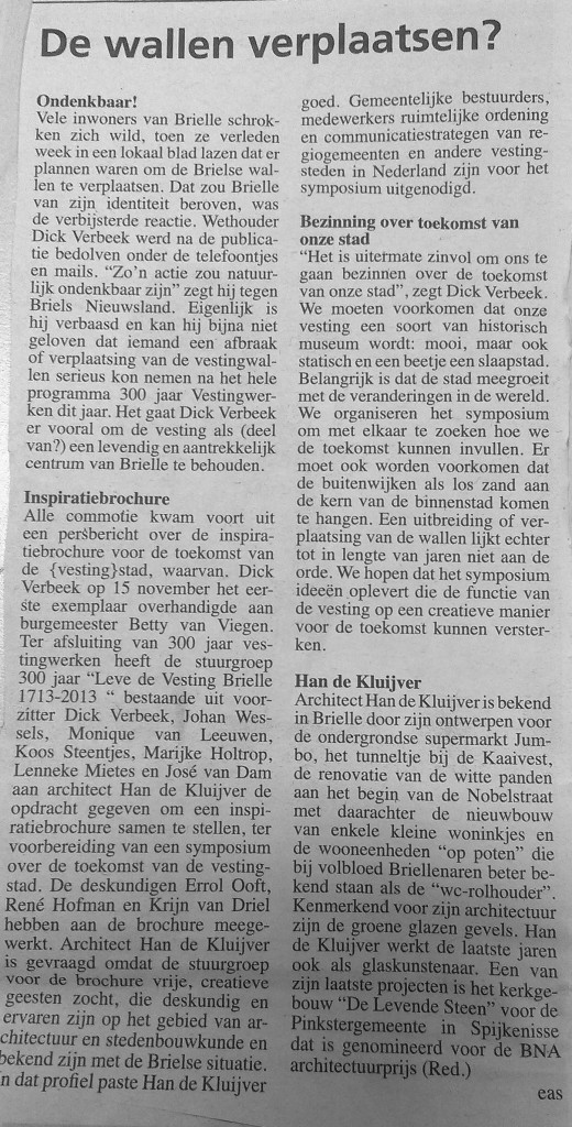 Briels Nieuwsland 27 nov 2013
