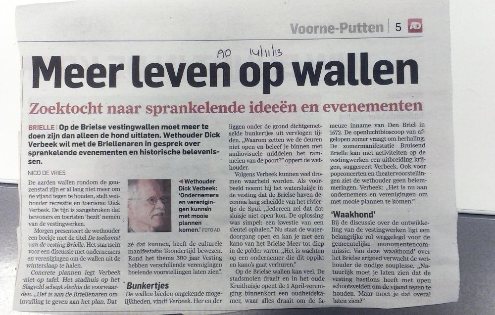 Meer Leven op de Wallen - Dick Verbeek - leve de vesting brielle