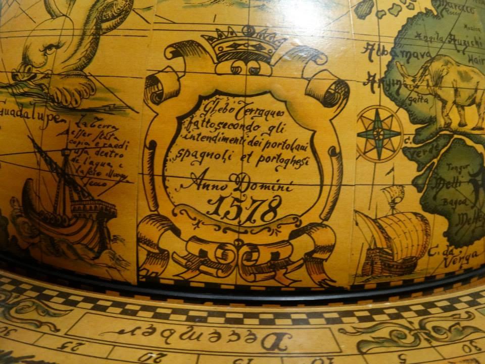 kruithuis - globe 1587