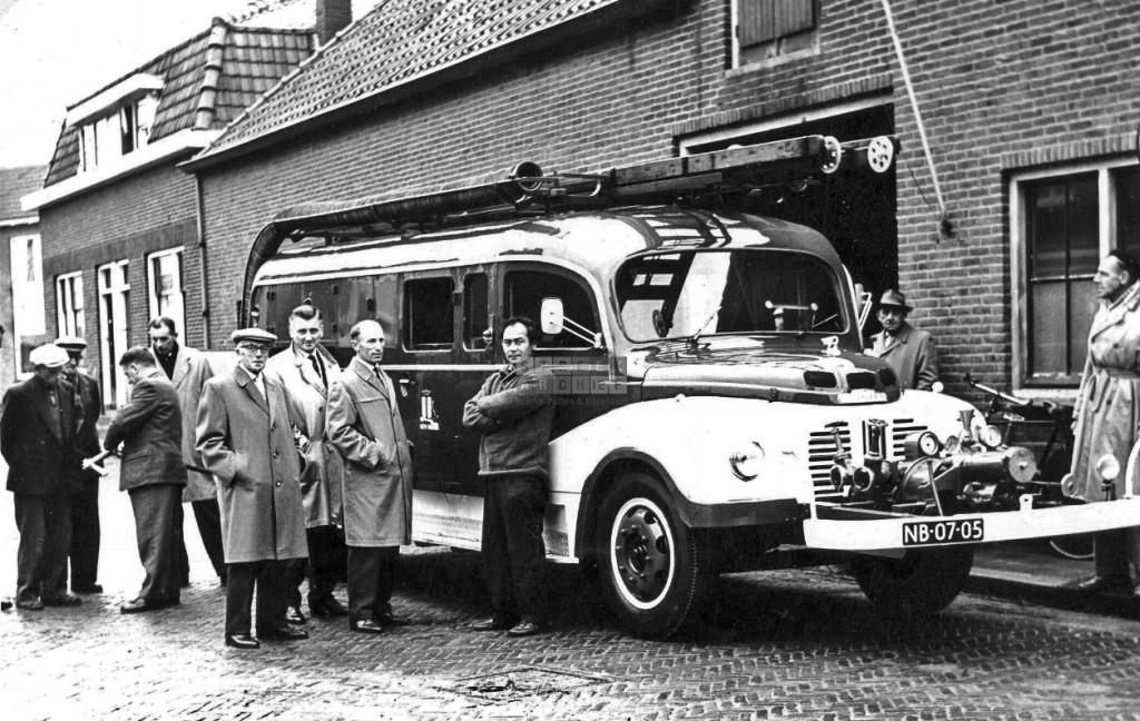 Dijkstraat brandweer